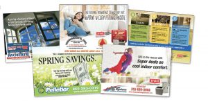 Direct mail samples